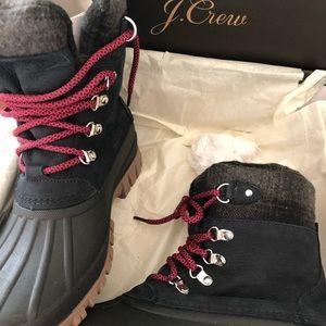 "8116c1c80cd j Crew "" the perfect winter BOOT"" NIB duck boots NWT"